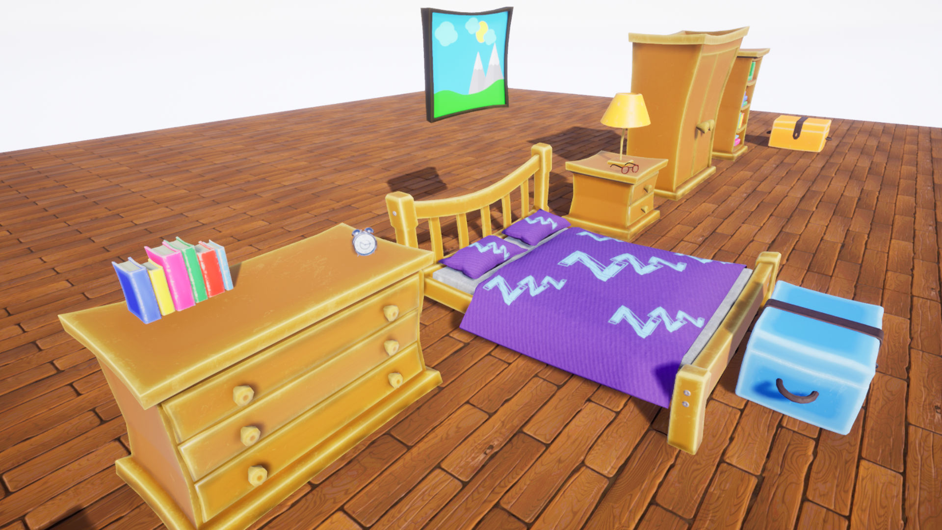 Stylized Bedroom Furniture