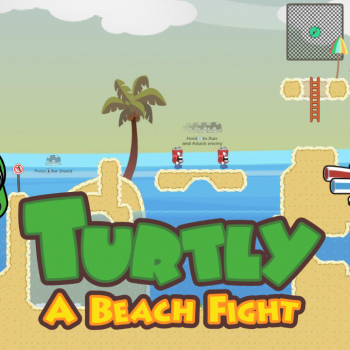Turtly - A Beach Fight! Demo Available on itch.io